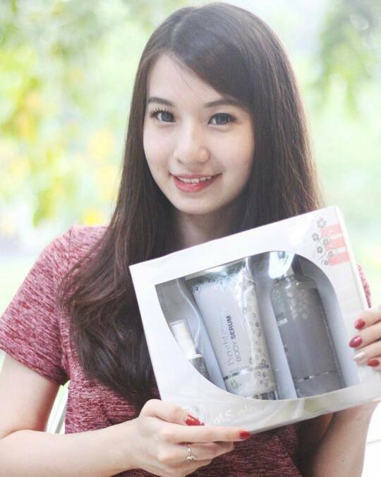 poto ms glow whitening body series