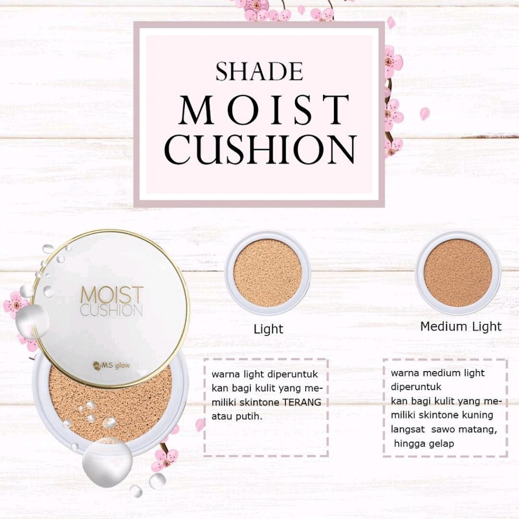 Varian Moist Cushion Ms Glow Skincare