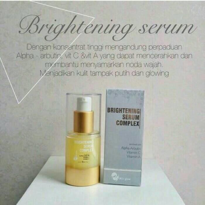 brightening serum ms glow