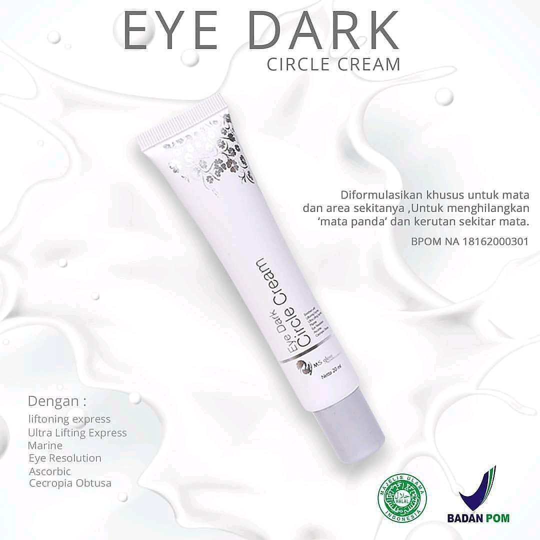 ms glow eye cream