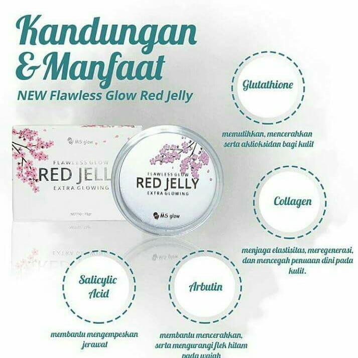 Kandungan dan Manfaat Red Jelly Extra Glowing