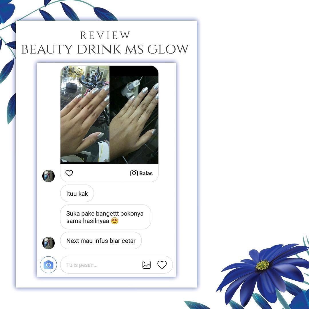 Lebih Cerah Dengan Beauty Drink Ms Glow