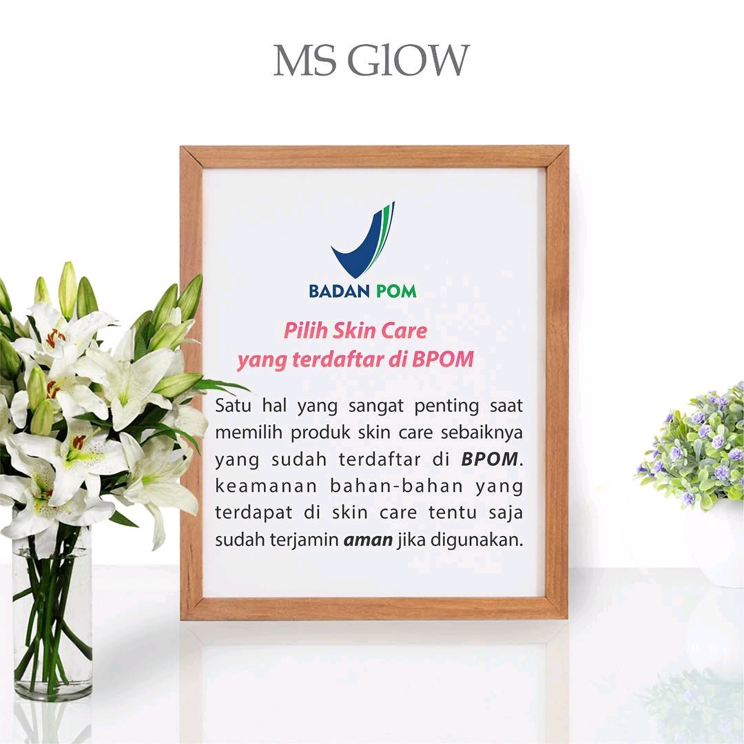 BPOM Resmi Produk Ms Glow Skincare Original