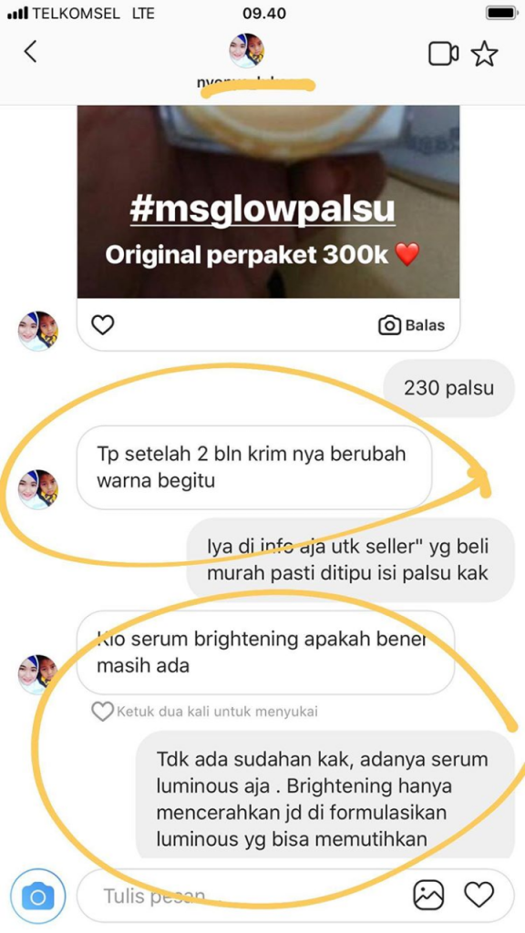 Ms Glow Palsu Dijual Dengan Harga Murah