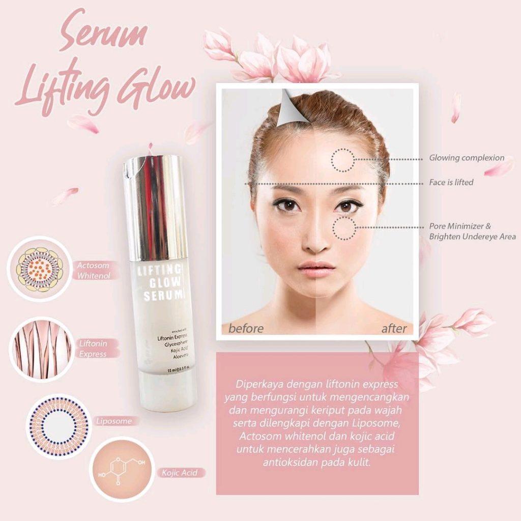 Lifting Serum MS Glow Kemasan Baru