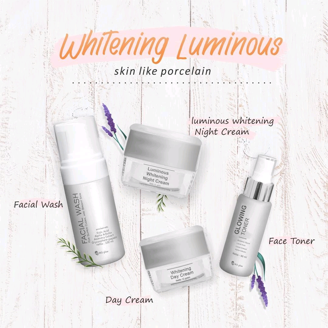 Paket Whitening Luminous Ms Glow