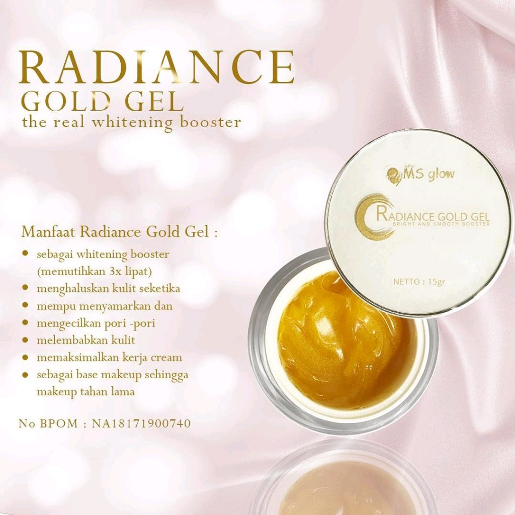 Radiance Gold Gel Ms Glow Original
