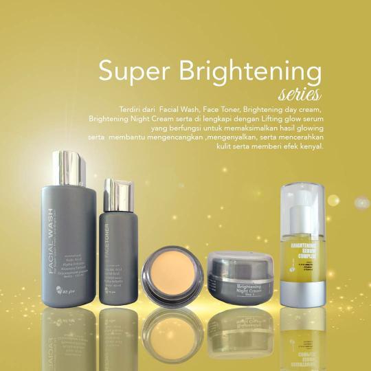ms glow super brightening series