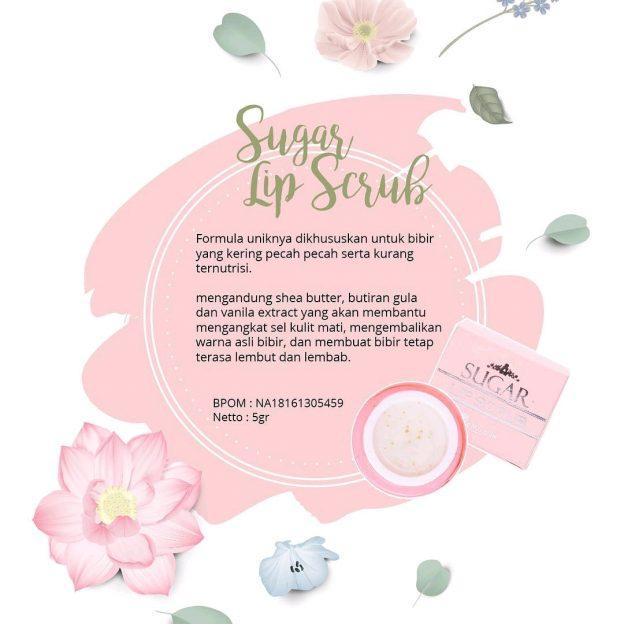 Sugar Lip Scrub Ms Glow Original