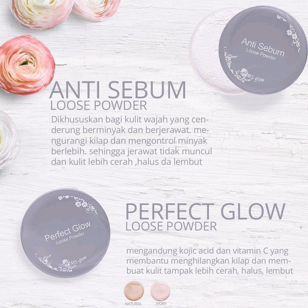 Varian Loose Powder Ms Glow Original