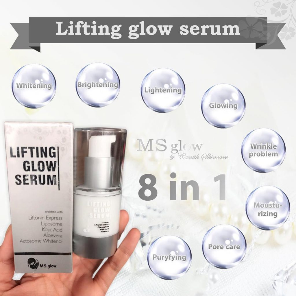 ms glow lifting glow serum