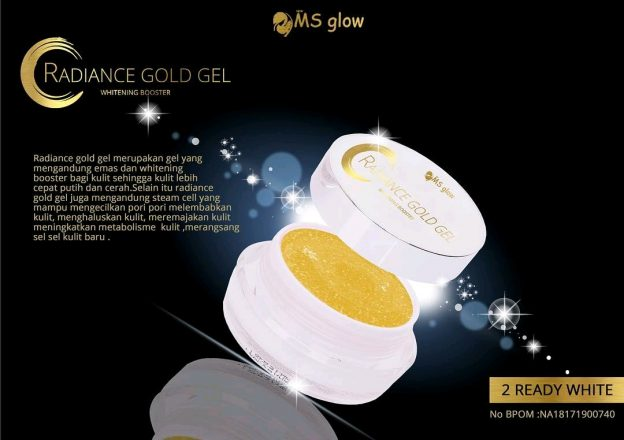 ms glow radiance gold gel original