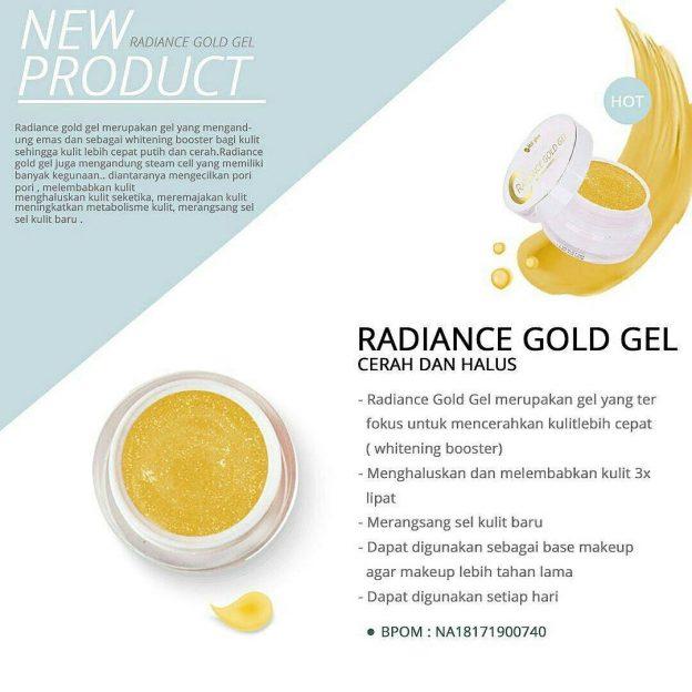 radiance gold gel