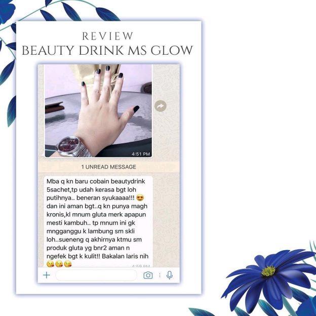 Bukti Khasiat Beauty Drink Ms Glow