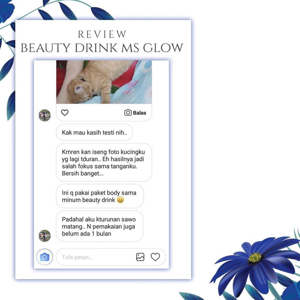 Kulit Putih Alami Dengan Beauty Drink MS Glow
