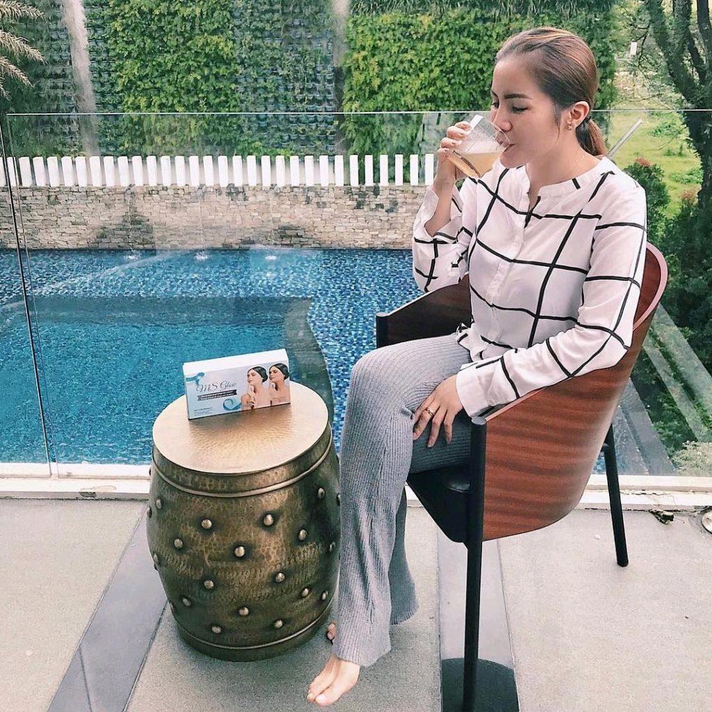 Pemutih Kulit Ala Artis Beauty Drink Ms Glow