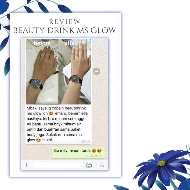 Pemutih Kulit Terbaik Beauty Drink MS Glow