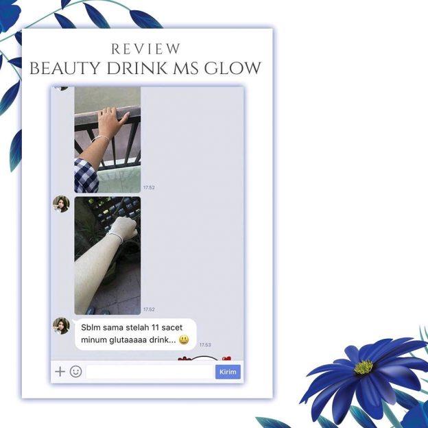 Testimoni Pemakaian Beauty drink Ms Glow