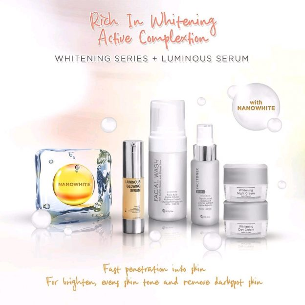 Paket LEngkap Luminous Glowing Serum Ms Glow