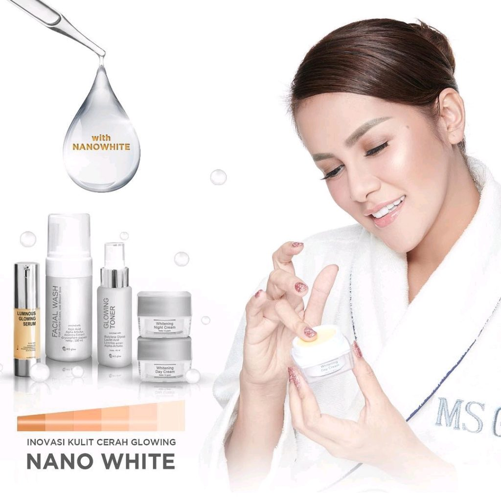 Terobosan Tekonologi Nano White DAlam Serum Luminous Glowing Ms Glow