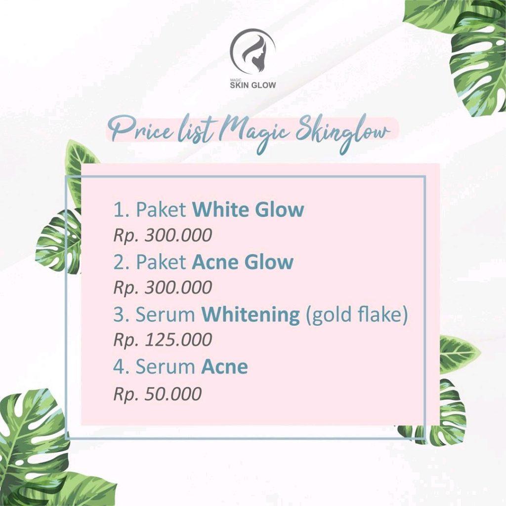 Daftar Harga Resmi Magic Skin Glow Asli