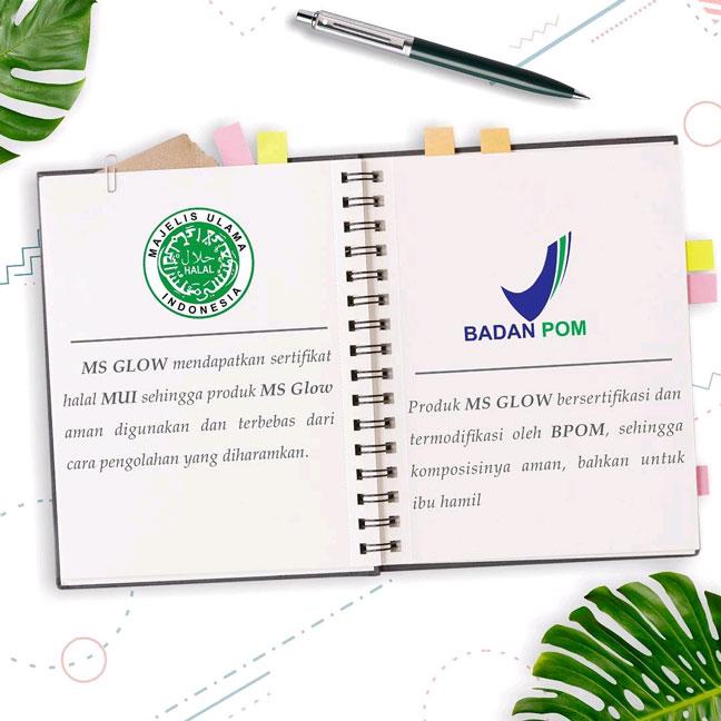 Ms Glow SKincare Yang Terjamin BPOM dan HALAL