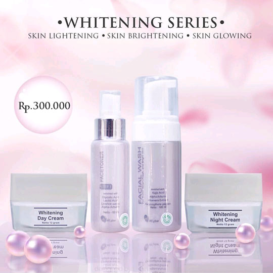 Whitening Series Ms Glow